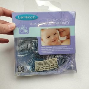 NIB Lansinoh 3 in 1 Cold/Hot Breast Therapy